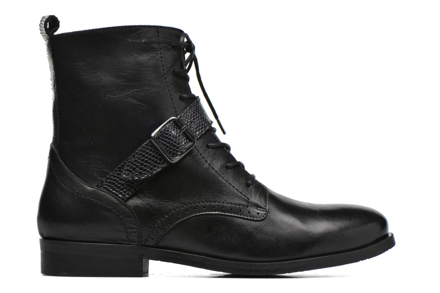 Ankle boots HE Spring Coton Black back view