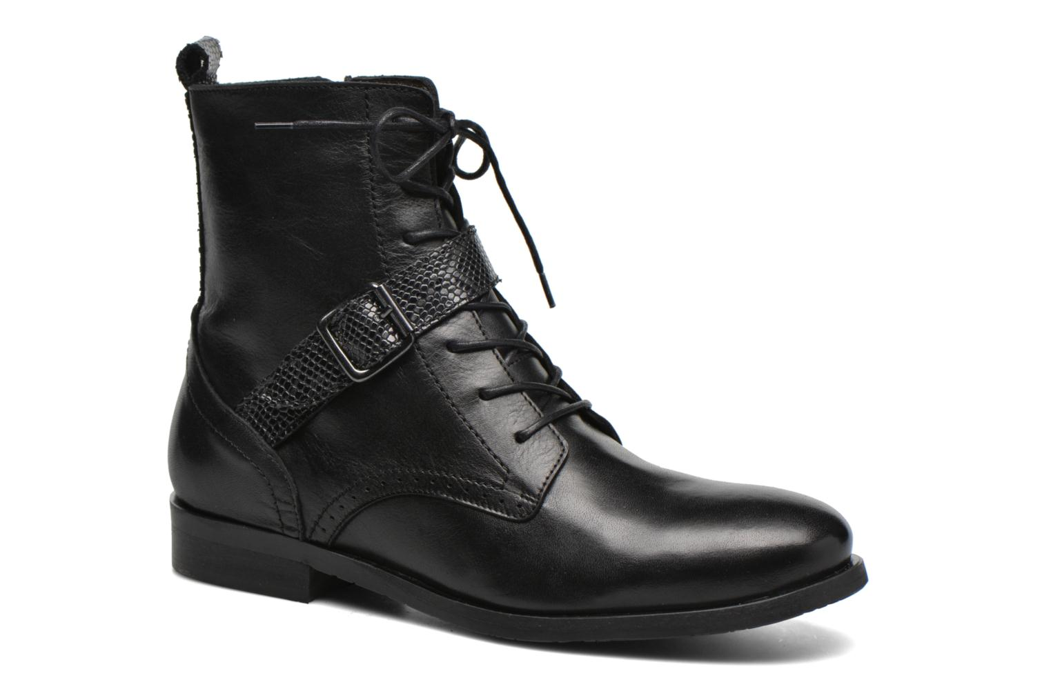 Ankle boots HE Spring Coton Black detailed view/ Pair view