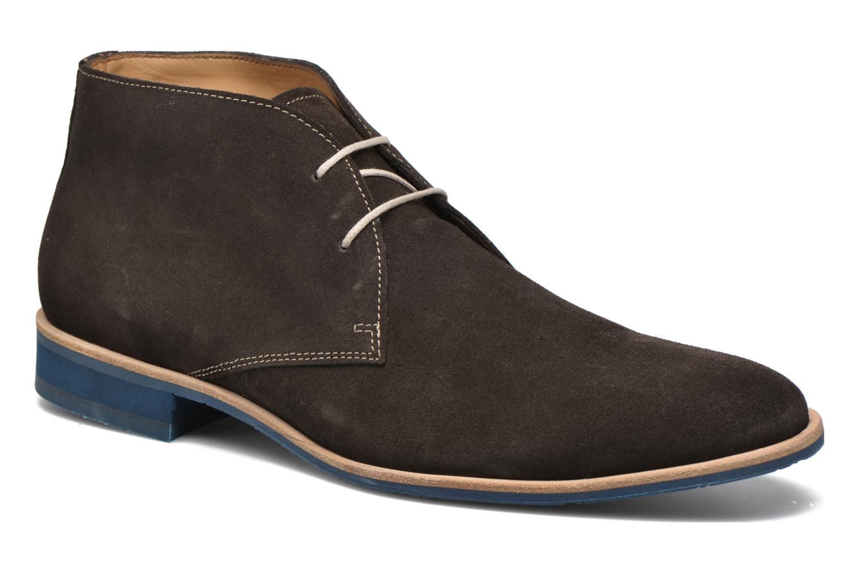 Zapatos con cordones HE Spring Andy Marrón vista de detalle / par