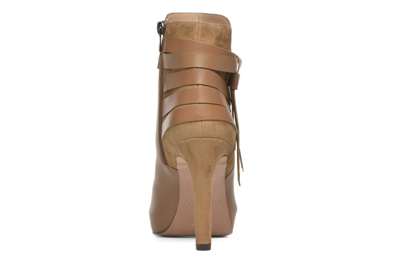 Bottines et boots Pura Lopez Catarina Marron vue droite