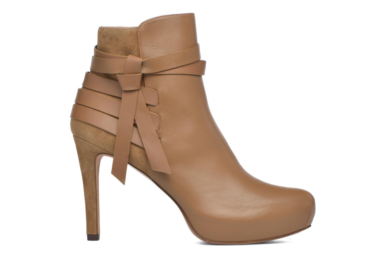 Bottines et boots Pura Lopez Catarina Marron vue derrière