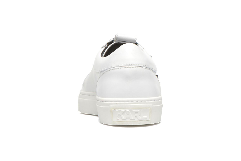 Studded Star Loafer Black White