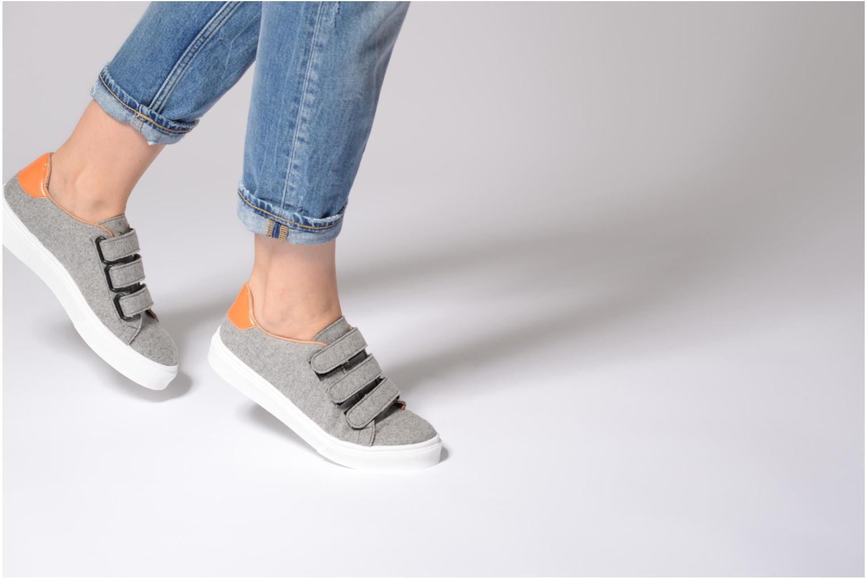 Sneaker Made by SARENZA Partygloo #1 mehrfarbig ansicht von unten / tasche getragen