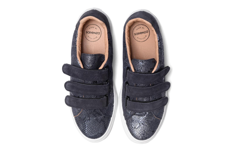 Sneaker Made by SARENZA Partygloo #1 blau schuhe getragen