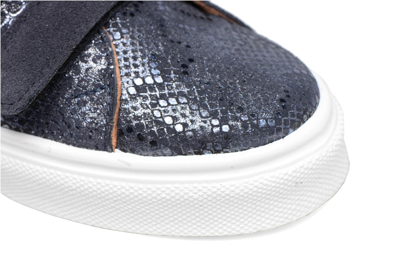 Sneaker Made by SARENZA Partygloo #1 blau ansicht von links