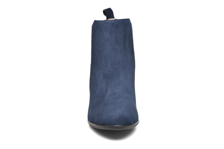 Stivaletti e tronchetti JB MARTIN Charmel Azzurro modello indossato