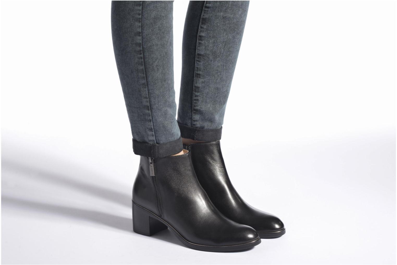 Bottines et boots JB MARTIN Babels Noir vue bas / vue portée sac