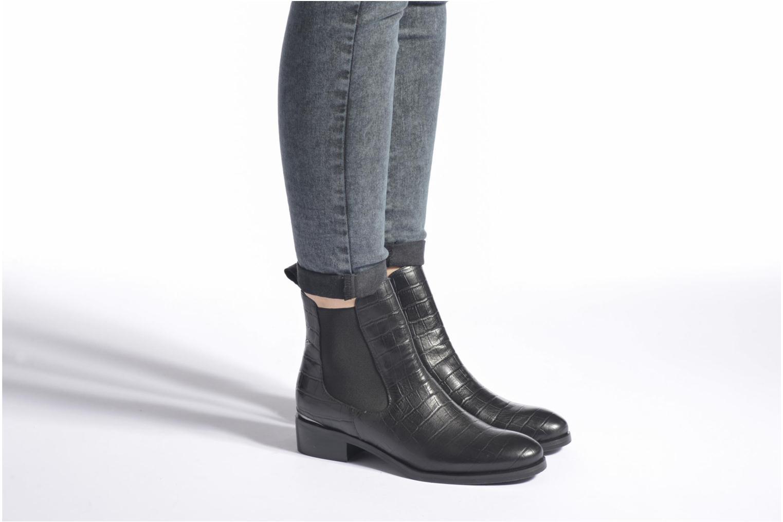 Bottines et boots JB MARTIN Alkes Noir vue bas / vue portée sac