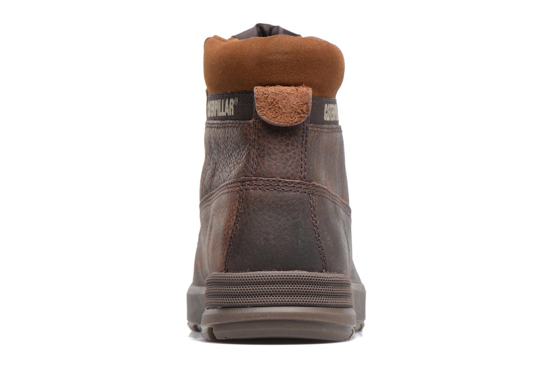Bottines et boots Caterpillar Ryker Marron vue droite