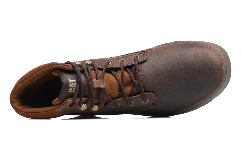 Bottines et boots Caterpillar Ryker Marron vue gauche
