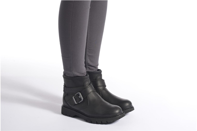 Bottines et boots Caterpillar Rey Noir vue bas / vue portée sac