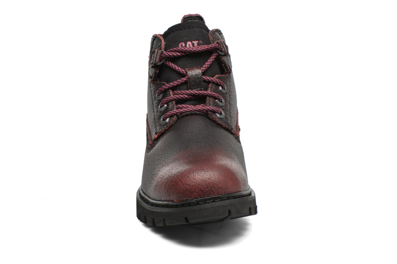 Chaussures à lacets Caterpillar Melody Bordeaux vue portées chaussures