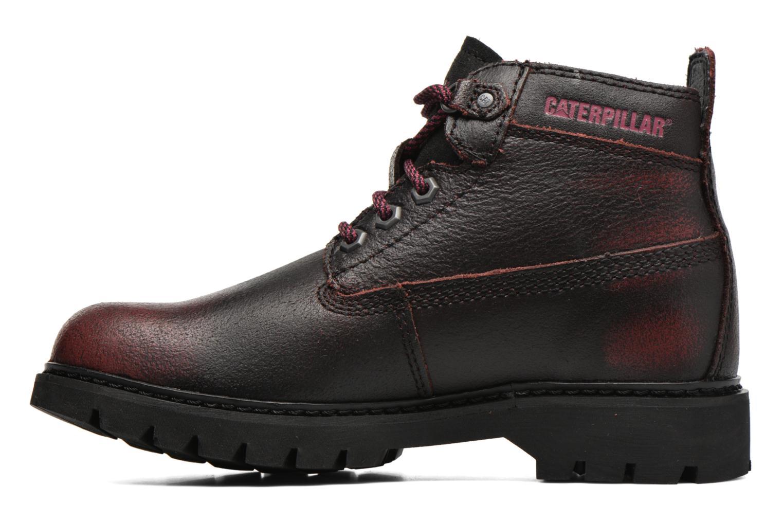 Chaussures à lacets Caterpillar Melody Bordeaux vue face