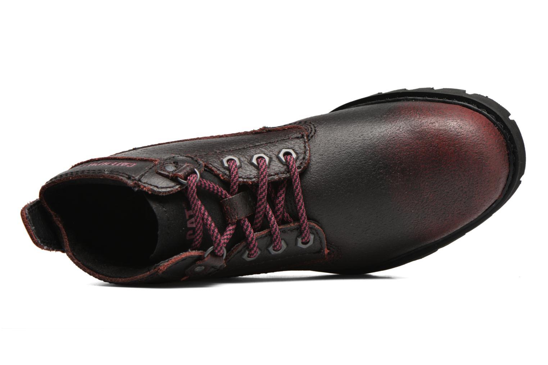 Chaussures à lacets Caterpillar Melody Bordeaux vue gauche
