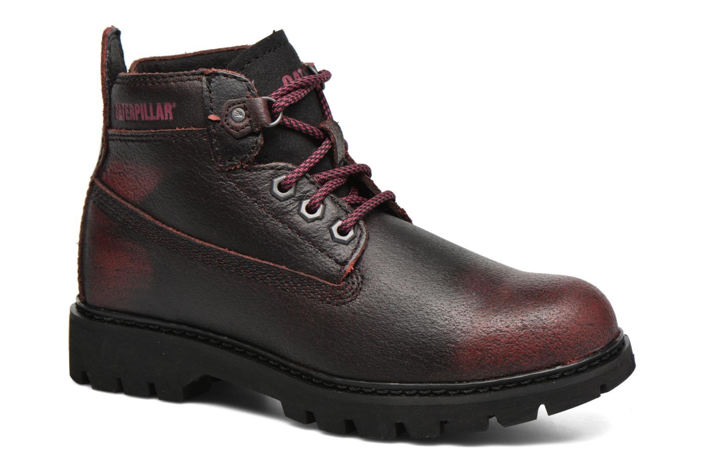 Chaussures à lacets Caterpillar Melody Bordeaux vue détail/paire