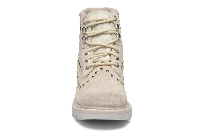 Bottines et boots Caterpillar Colorado Snazzy Blanc vue portées chaussures