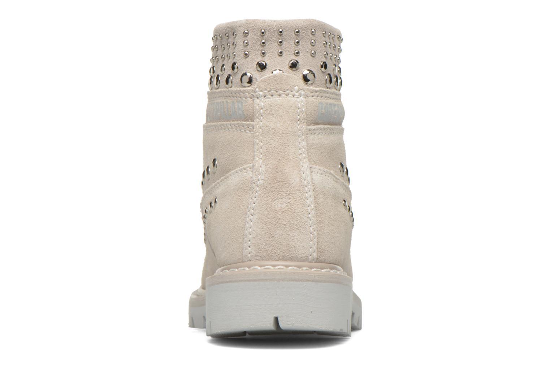 Bottines et boots Caterpillar Colorado Snazzy Blanc vue droite