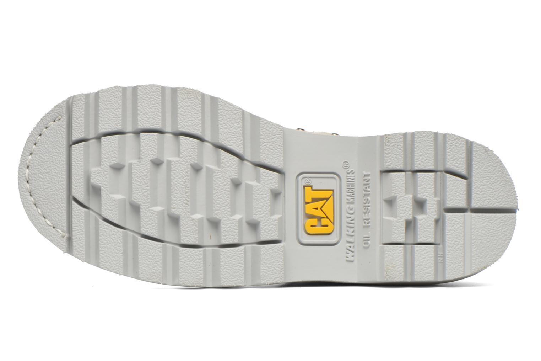 Bottines et boots Caterpillar Colorado Snazzy Blanc vue haut