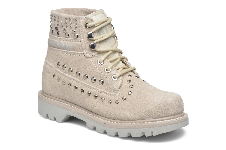 Bottines et boots Caterpillar Colorado Snazzy Blanc vue détail/paire