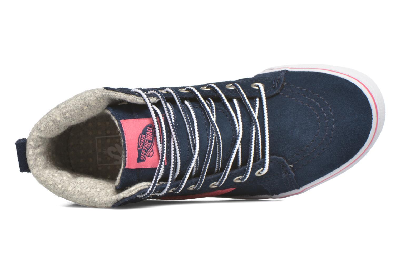 Baskets Vans SK8-Hi MTE K Bleu vue gauche