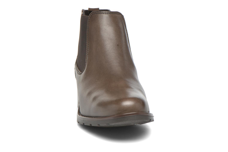 Bottines et boots Ara Liverpool 49501 Gris vue portées chaussures