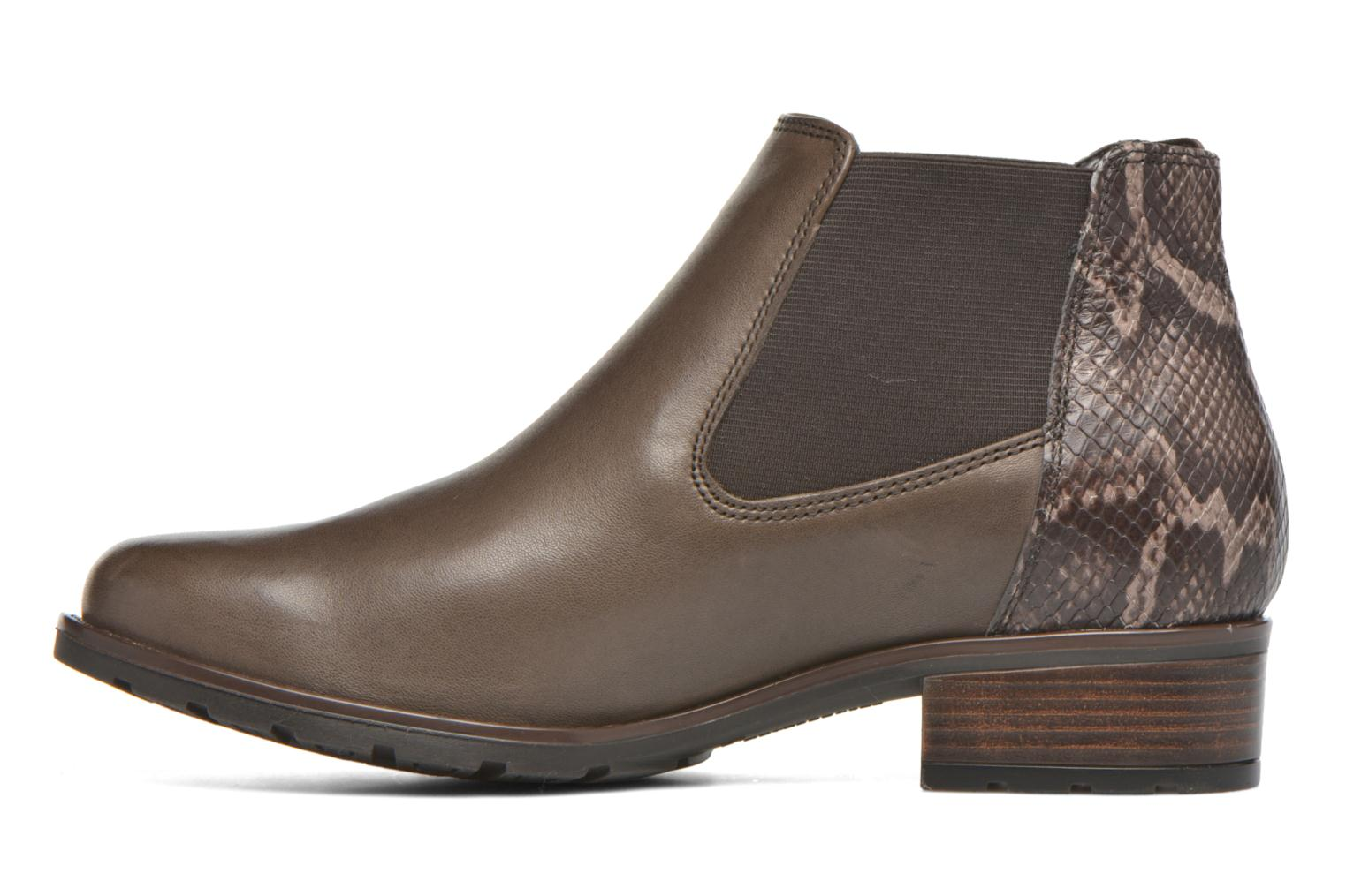 Bottines et boots Ara Liverpool 49501 Gris vue face