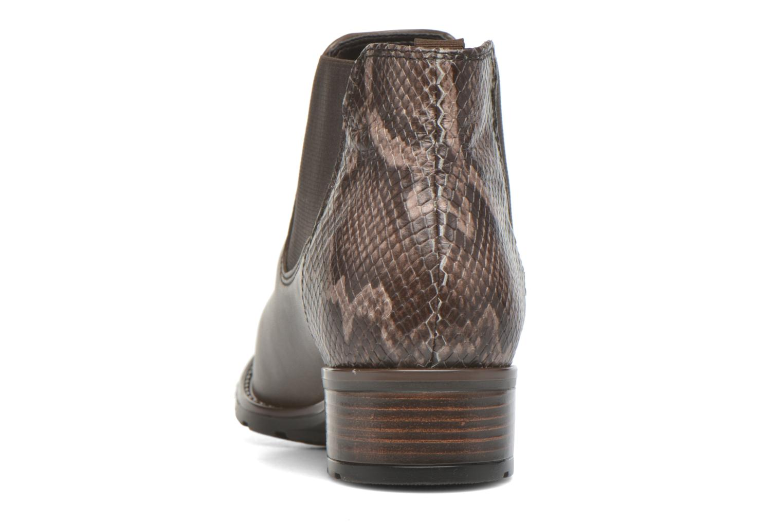 Bottines et boots Ara Liverpool 49501 Gris vue droite