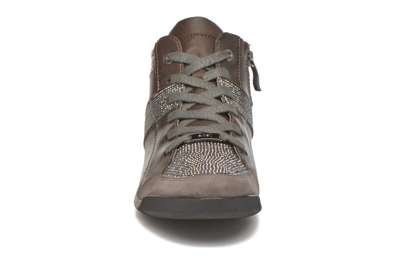 Sneakers Ara Rom Tall strass 34469 Grigio modello indossato