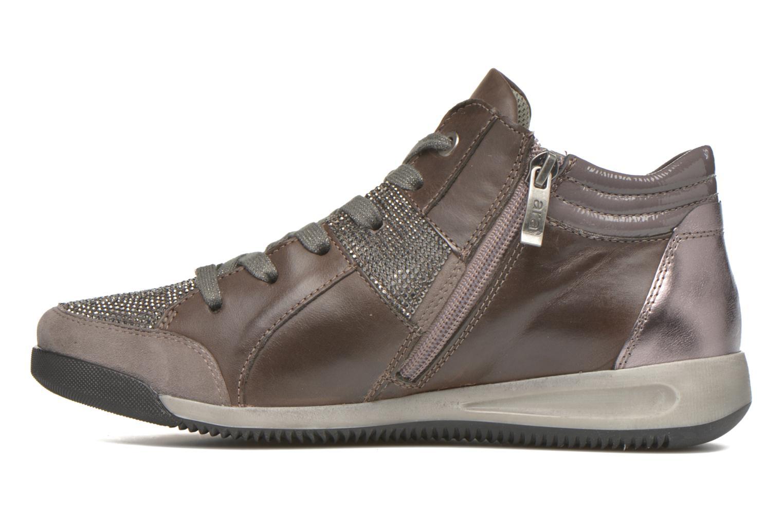 Sneakers Ara Rom Tall strass 34469 Grigio immagine frontale