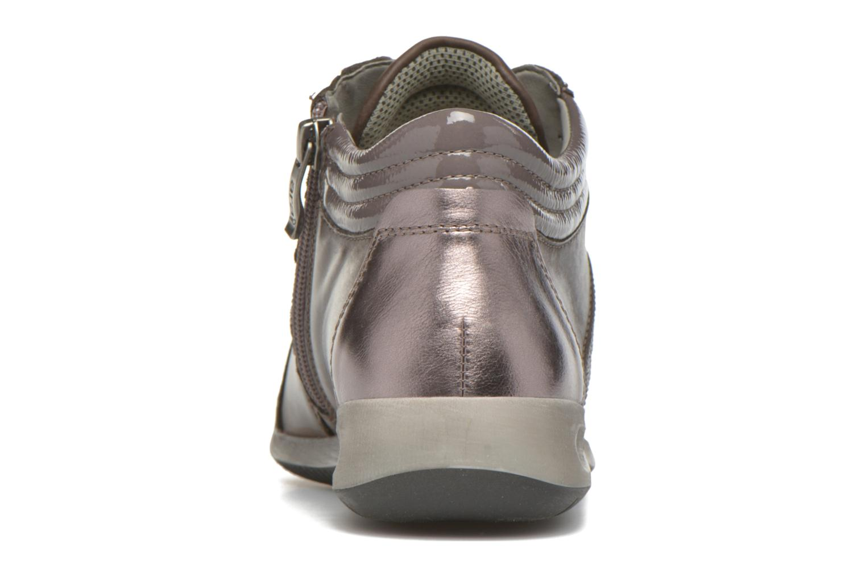 Sneakers Ara Rom Tall strass 34469 Grigio immagine destra