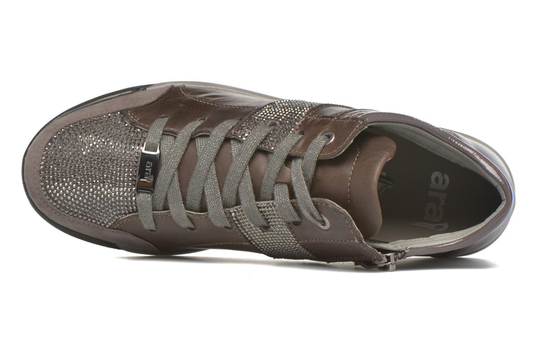 Sneakers Ara Rom Tall strass 34469 Grigio immagine sinistra