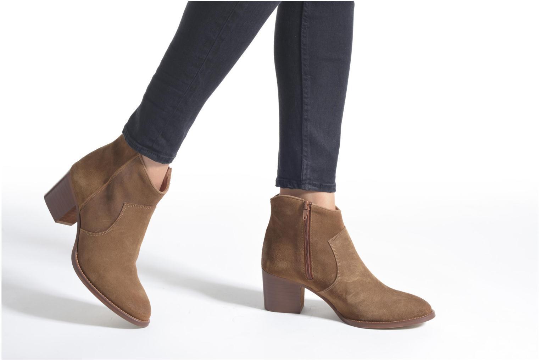 Bottines et boots Jonak Dakota Marron vue bas / vue portée sac