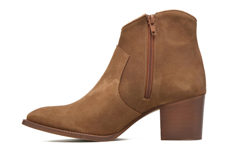 Ankle boots Jonak Dakota Brown front view