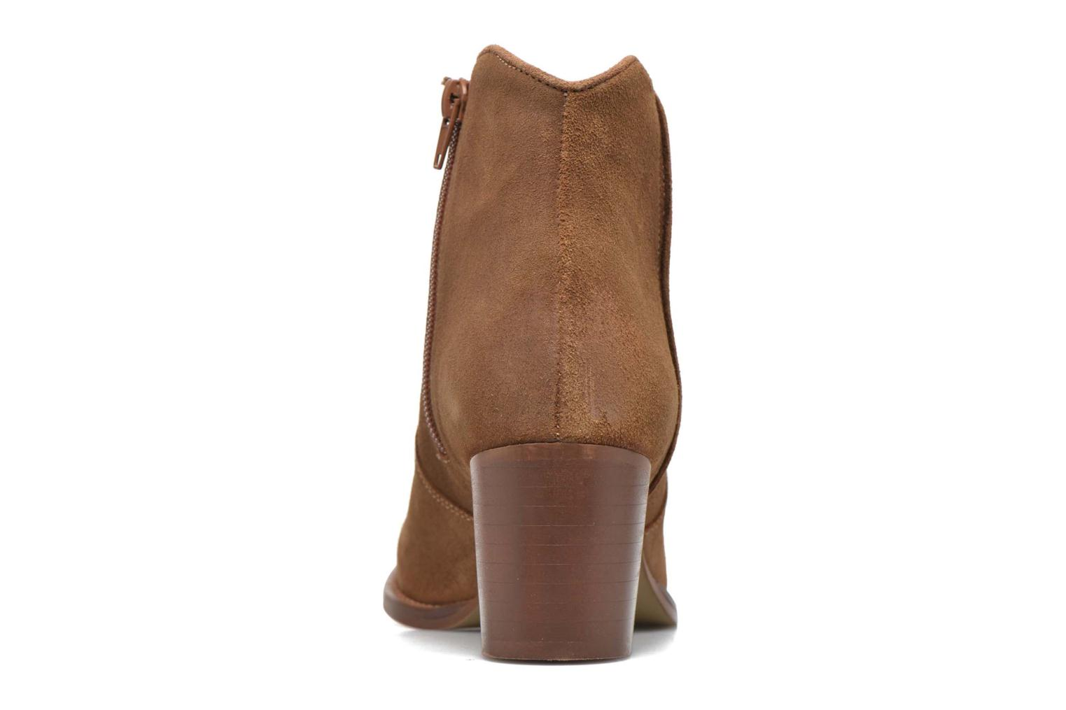 Ankle boots Jonak Dakota Brown view from the right