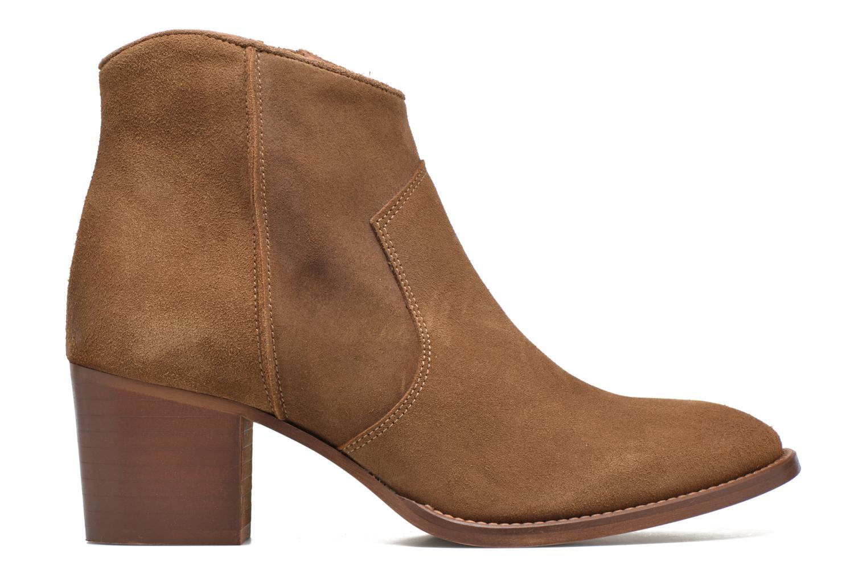 Ankle boots Jonak Dakota Brown back view