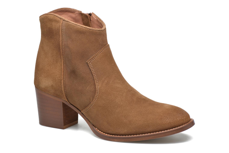 Ankle boots Jonak Dakota Brown detailed view/ Pair view