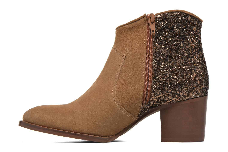 Bottines et boots Jonak Dakota Marron vue face
