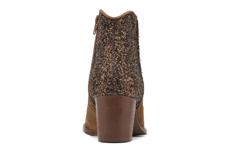 Dakota Croute Cognac + Glitter Camel À L'Arriere