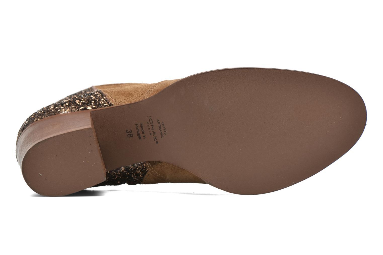 Bottines et boots Jonak Dakota Marron vue haut