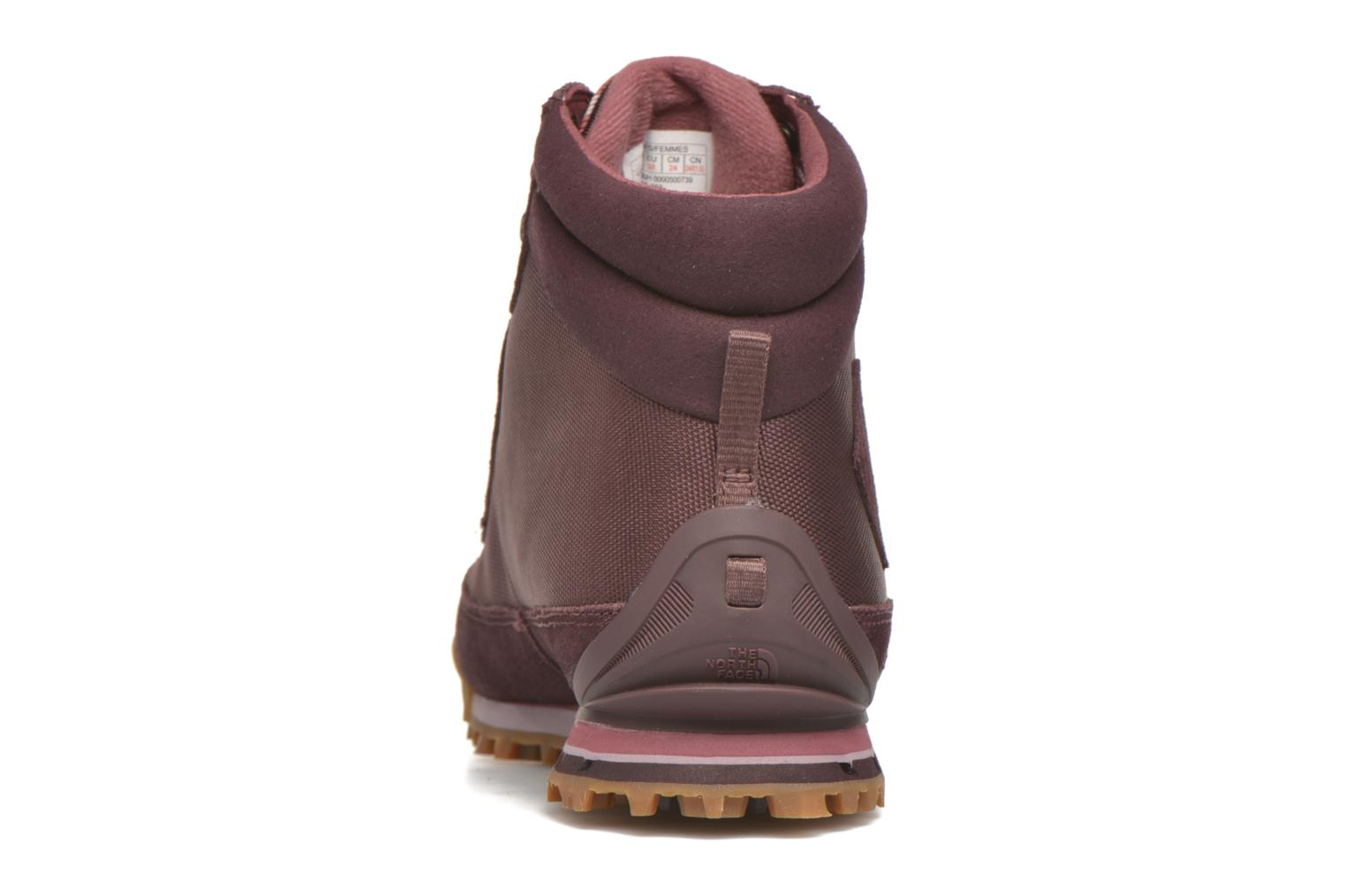 Sport shoes The North Face W Back-To-Berkeley Boot II Purple view from the right