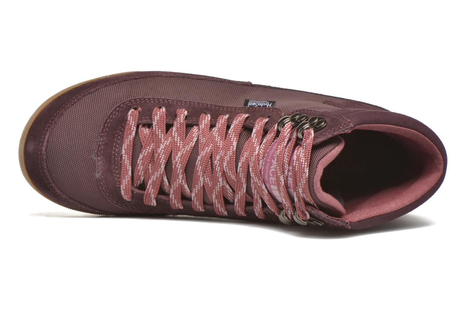Sport shoes The North Face W Back-To-Berkeley Boot II Purple view from the left