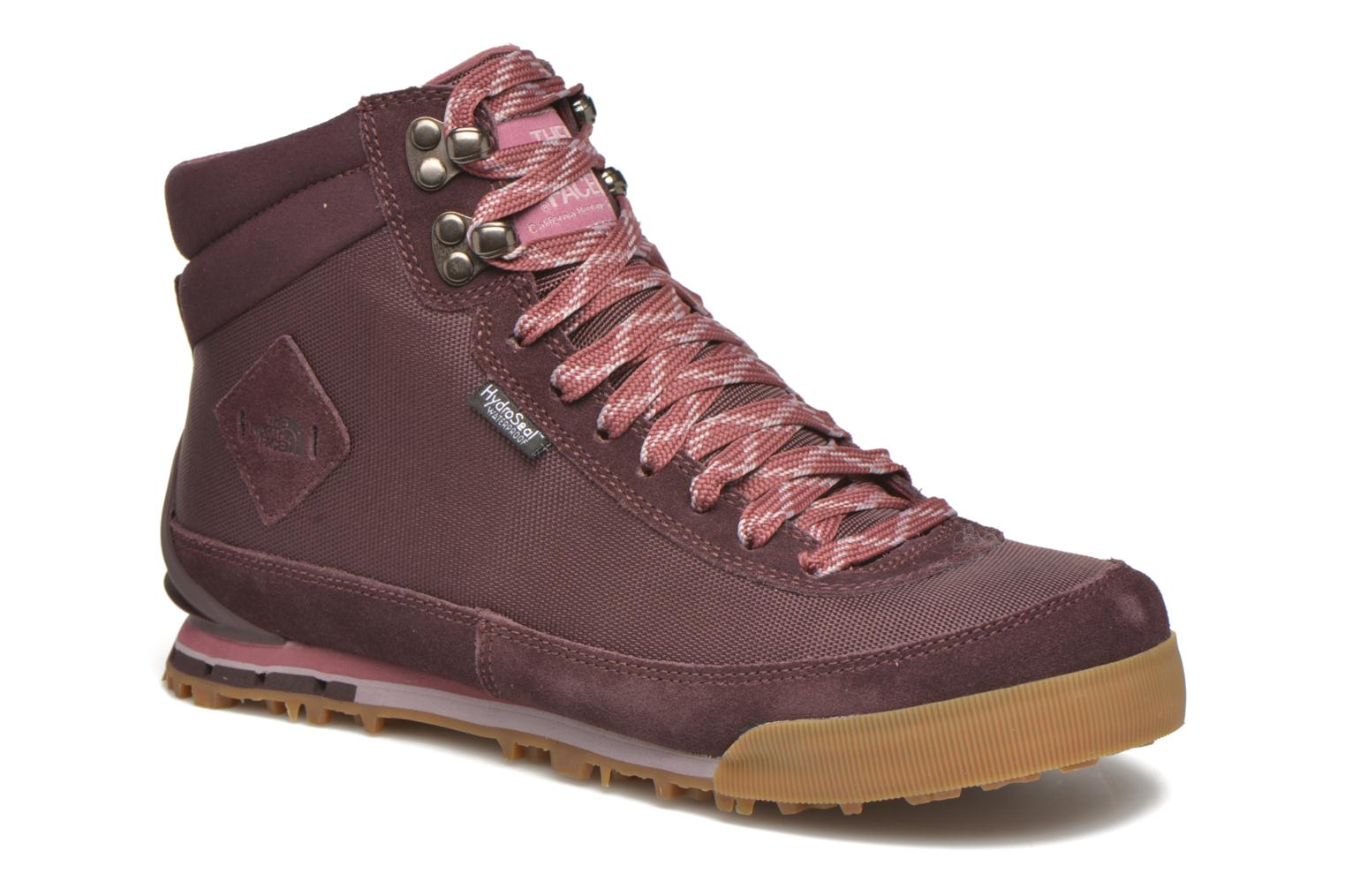 Sport shoes The North Face W Back-To-Berkeley Boot II Purple detailed view/ Pair view