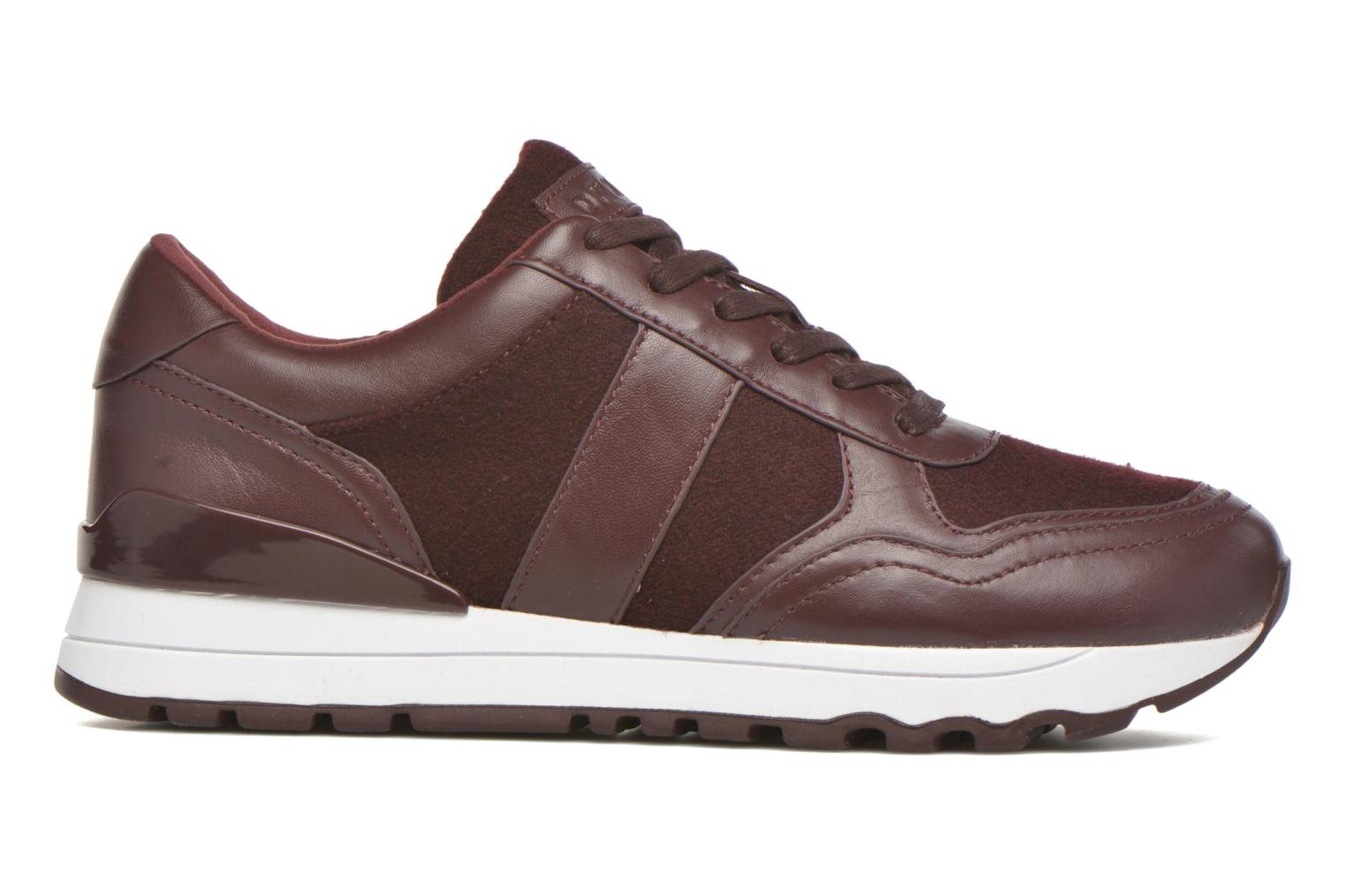 Trainers DKNY Jamie sport- lace runner Burgundy back view