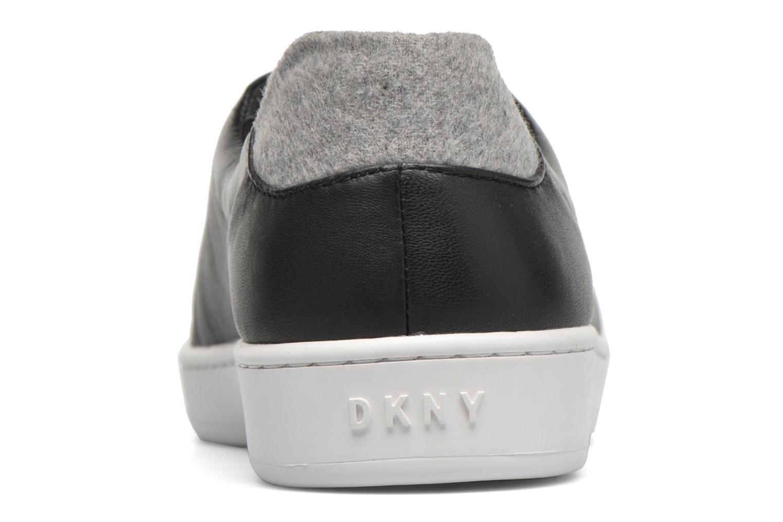 Baskets DKNY Bobbi Classic court Noir vue droite