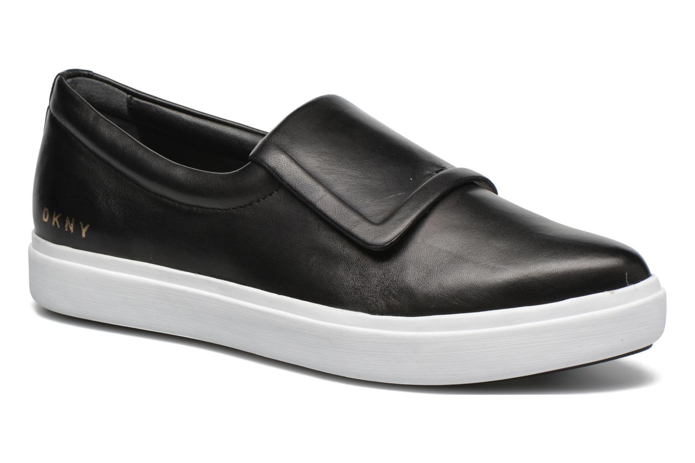 Baskets DKNY Tanner -Eva mold slip on Noir vue détail/paire