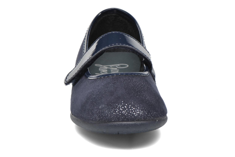 Ballerines I Love Shoes mantaisie Bleu vue portées chaussures