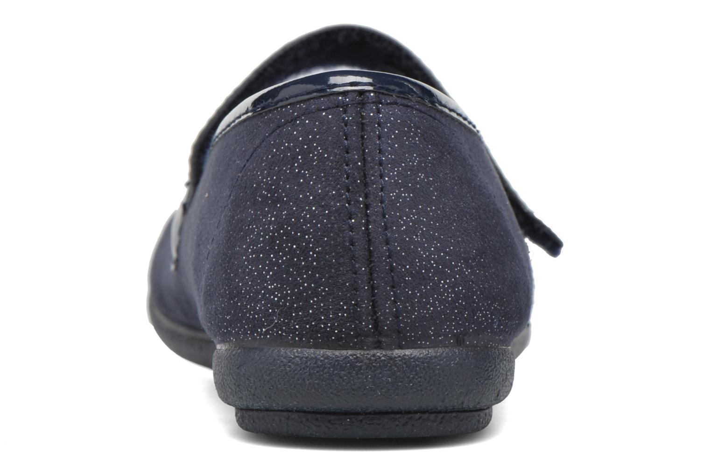 Ballerines I Love Shoes mantaisie Bleu vue droite