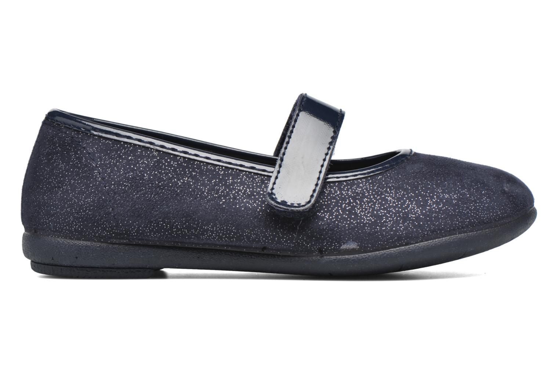 Ballerines I Love Shoes mantaisie Bleu vue derrière