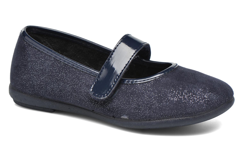 Ballerines I Love Shoes mantaisie Bleu vue détail/paire