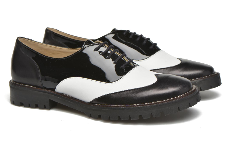 Chaussures à lacets MAURICE manufacture Plutarco Noir vue 3/4